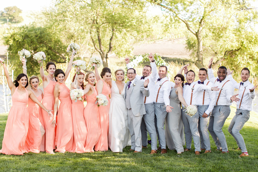 www.santabarbarawedding.com | Mike Larson | Islay Events | Greengate Ranch | Bridal Party
