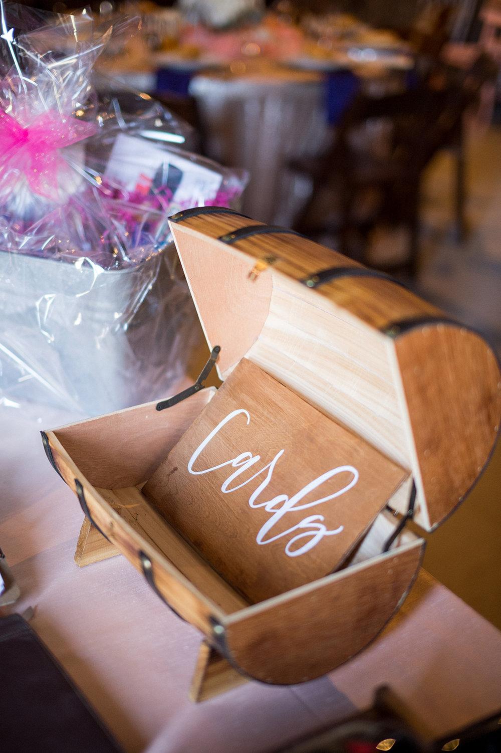 www.santabarbarawedding.com | Mike Larson | Islay Events | Greengate Ranch | Card Box