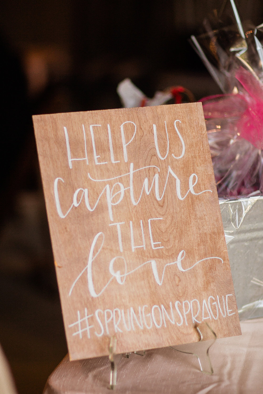 www.santabarbarawedding.com | Mike Larson | Islay Events | Greengate Ranch | Wedding Sign