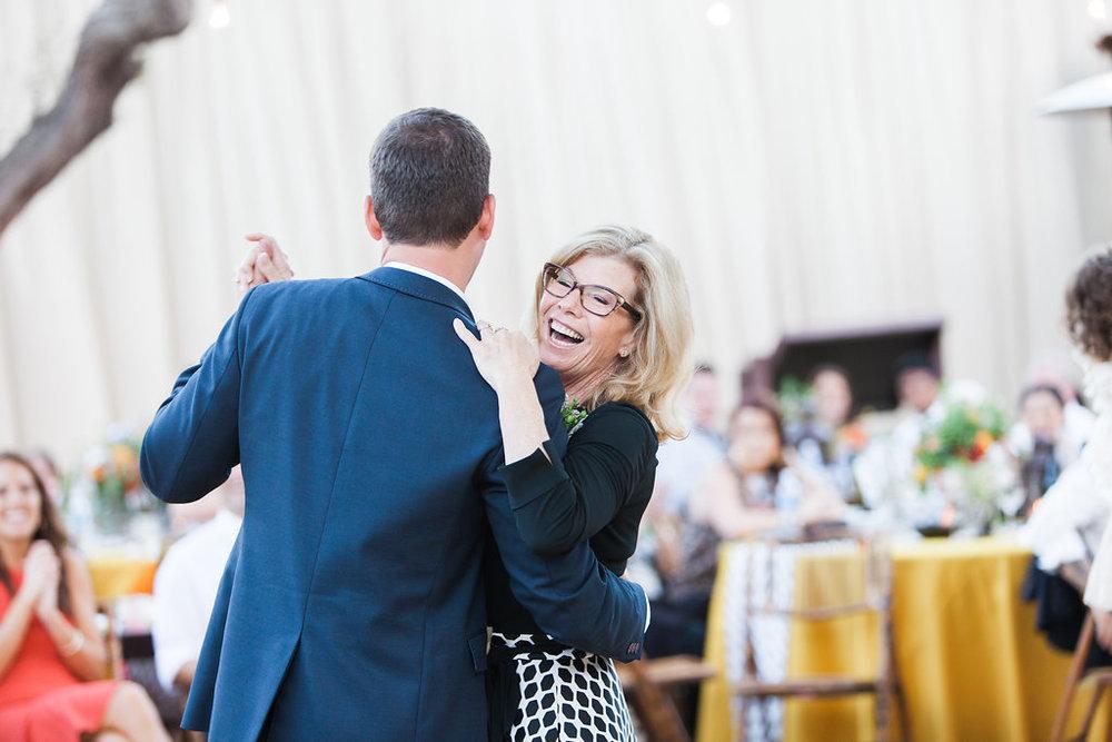 www.santabarbarawedding.com | Clarissa Koenig | Felici Events | Casa de la Guerra | Mother-Son Dance