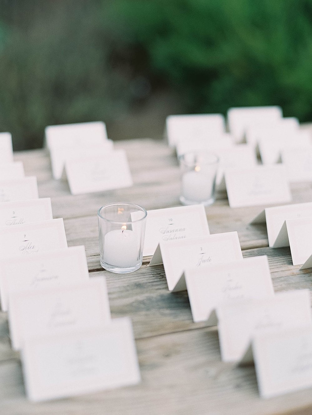 www.santabarbarawedding.com | Sunstone Winery | Luna de Mare | Esoteric Events | Escort Cards