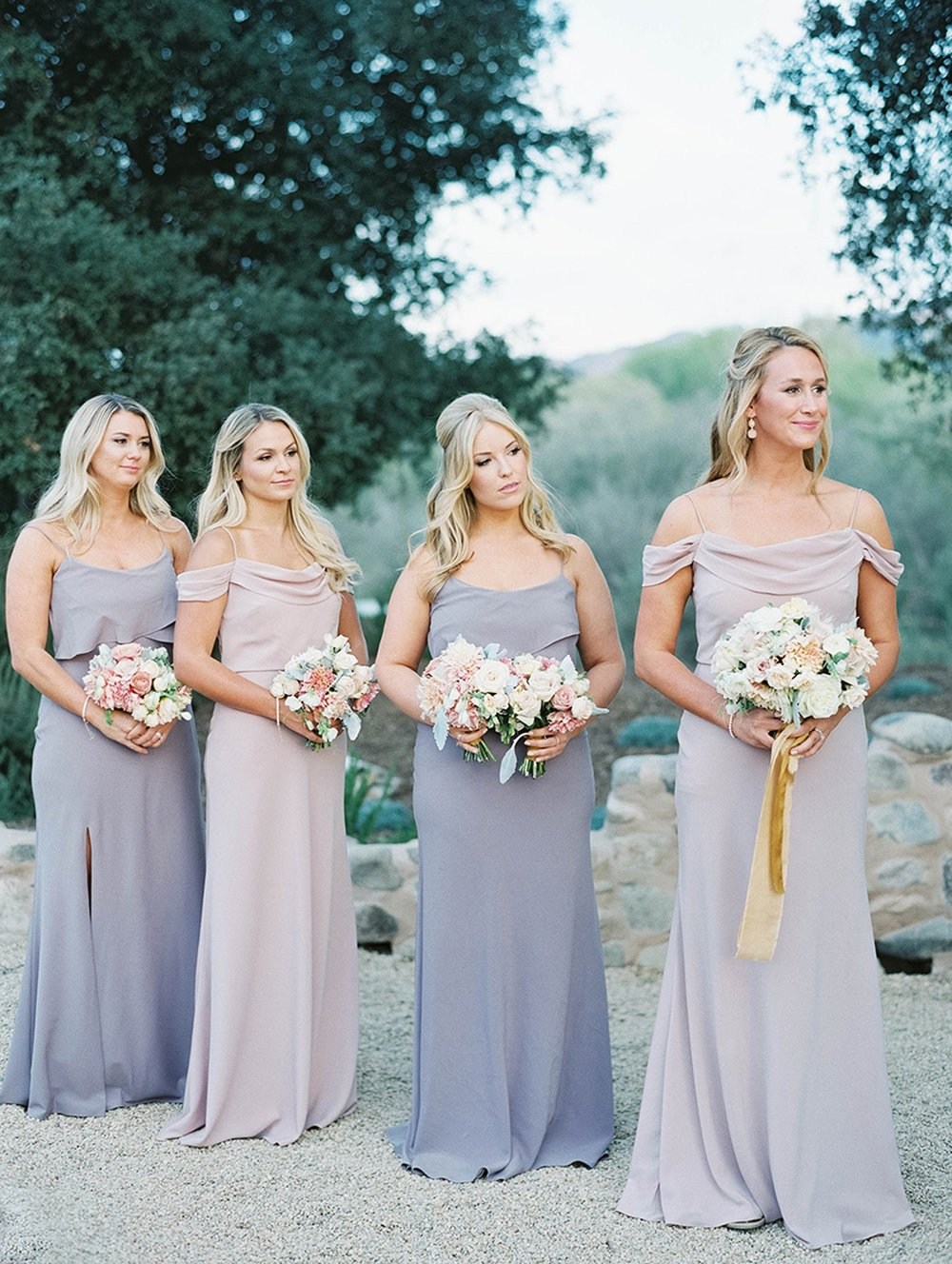 www.santabarbarawedding.com | Sunstone Winery | Luna de Mare | Esoteric Events | Bridesmaids