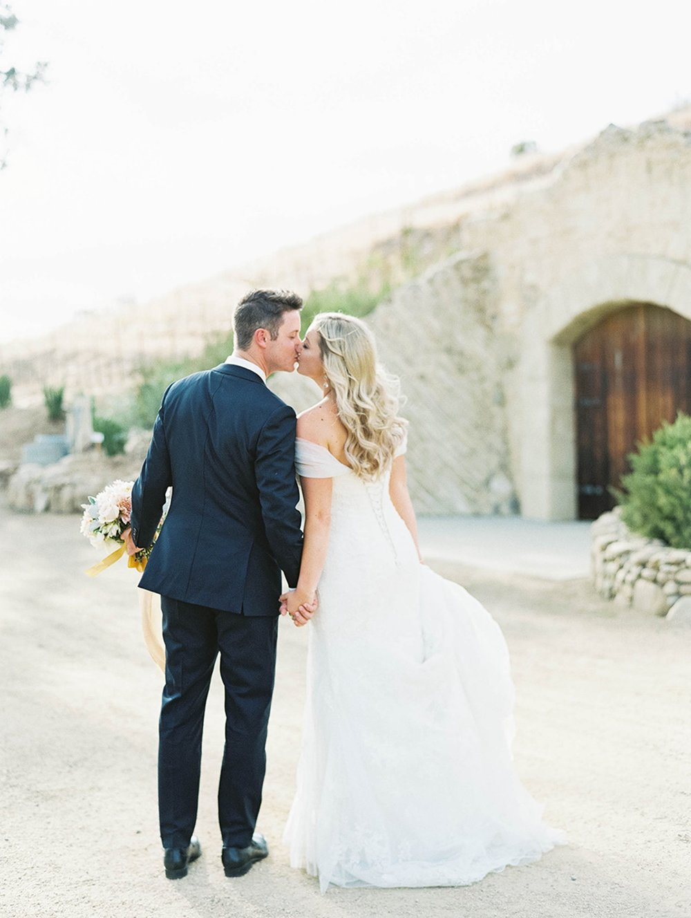 www.santabarbarawedding.com | Sunstone Winery | Luna de Mare | Esoteric Events | Bride and Groom