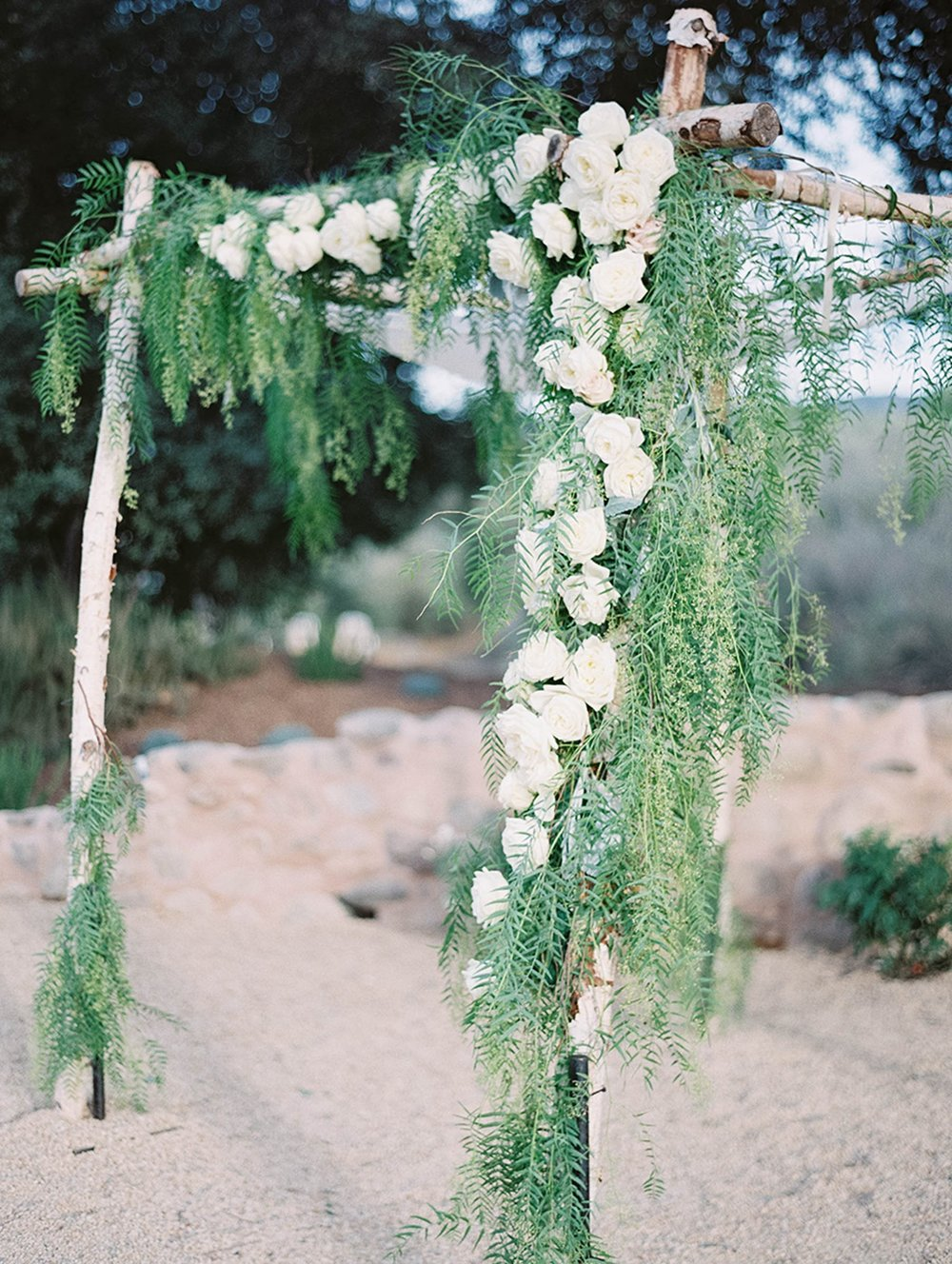 www.santabarbarawedding.com | Sunstone Winery | Luna de Mare | Esoteric Events | Wedding Arch