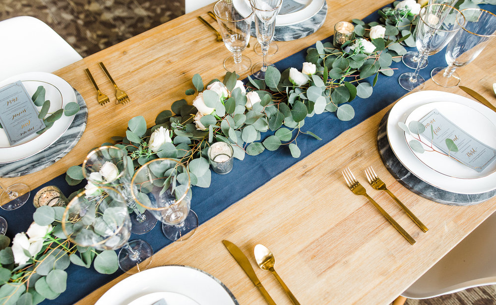 www.santabarbarawedding.com | Los Robles Greens | Besame Floral Events | Rachel Birkhofer | Styled Shoot | Reception Table