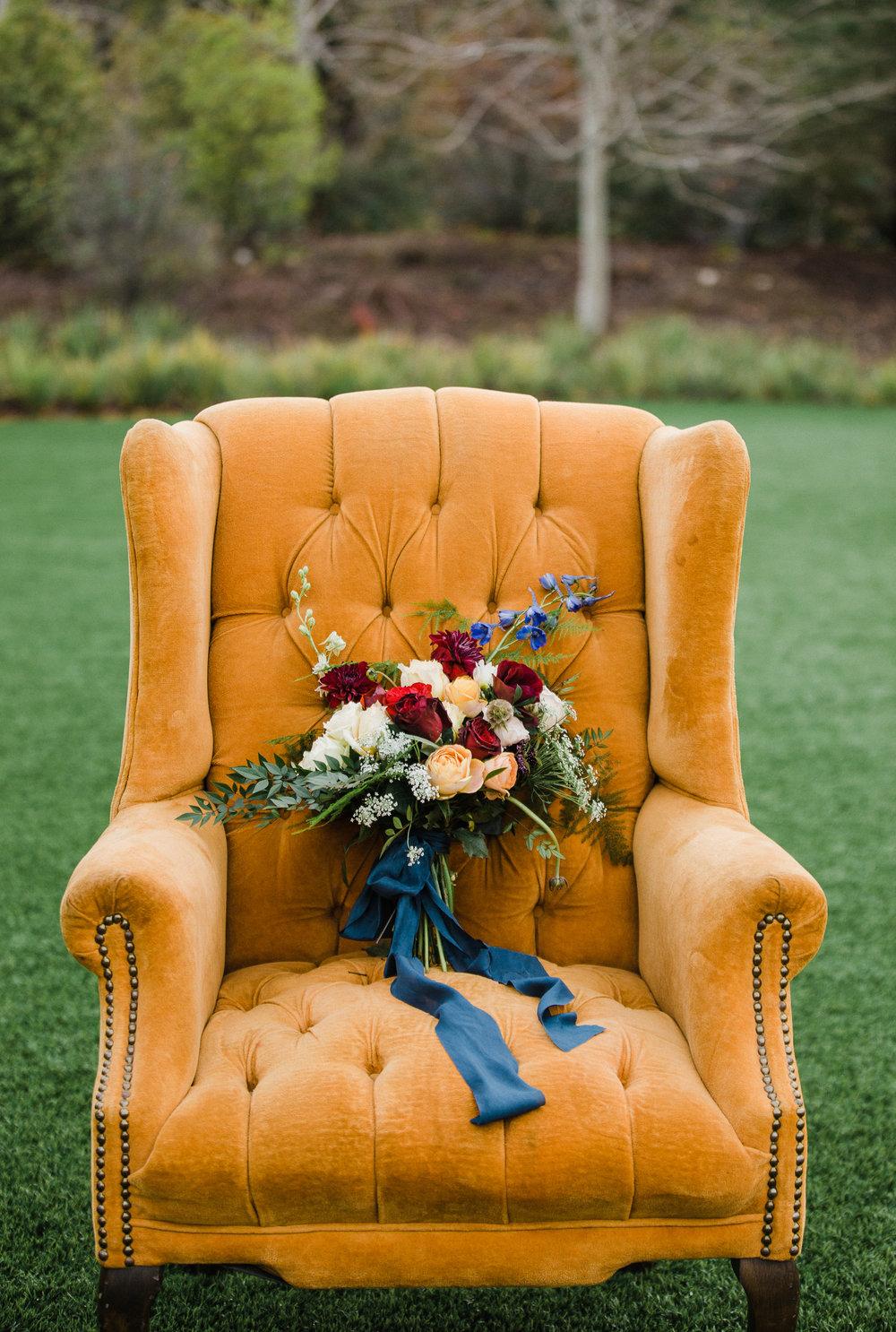 www.santabarbarawedding.com | Los Robles Greens | Besame Floral Events | Rachel Birkhofer | Styled Shoot | Bridal Bouquet