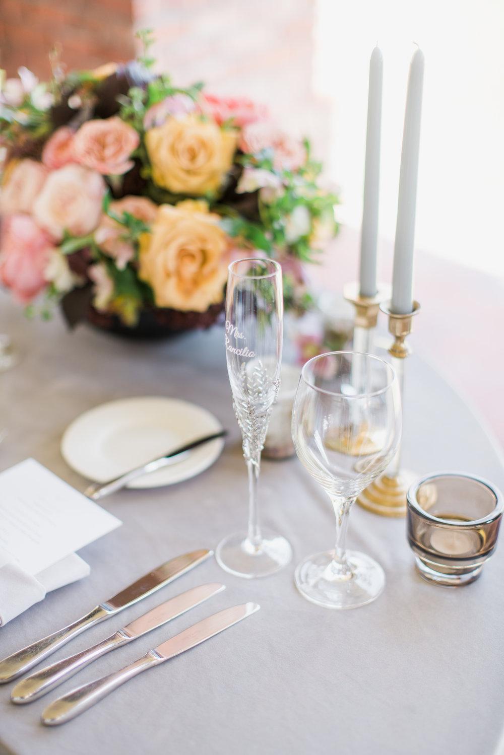 www.santabarbarawedding.com | Belmond El Encanto | Event of the Season | Taryn Grey Photo | Reception Table Details