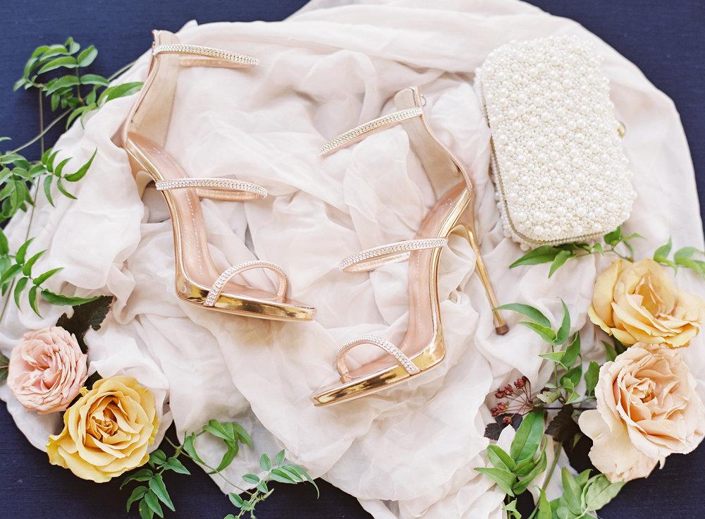 www.santabarbarawedding.com | Belmond El Encanto | Event of the Season | Taryn Grey Photo | Bride's Shoes