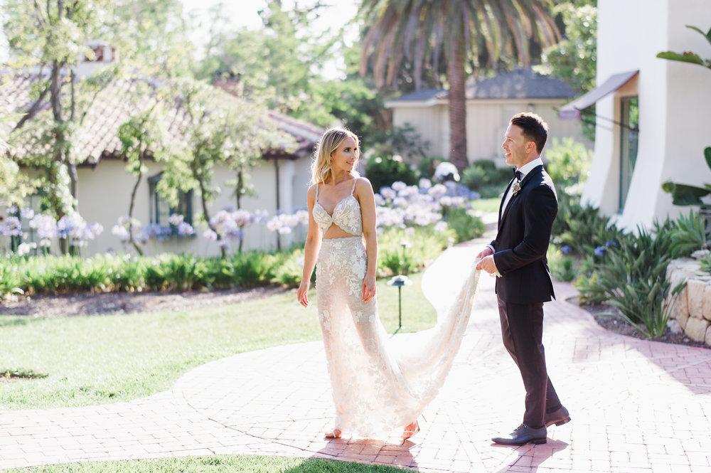 www.santabarbarawedding.com | Belmond El Encanto | Event of the Season | Taryn Grey Photo | Bride and Groom