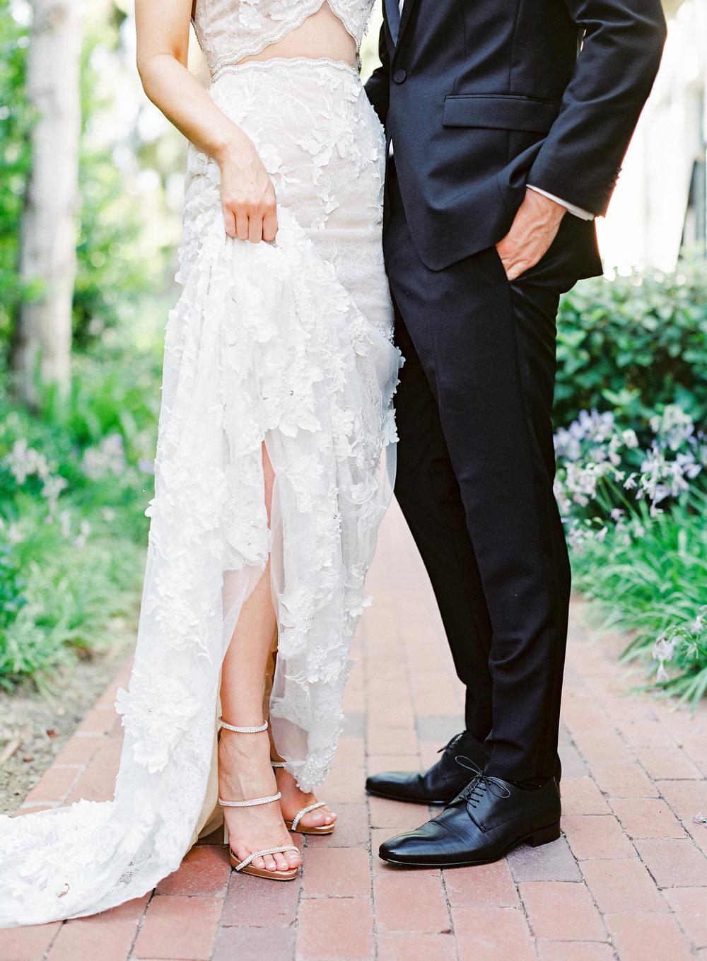 www.santabarbarawedding.com | Belmond El Encanto | Event of the Season | Taryn Grey Photo | Bride and Groom details