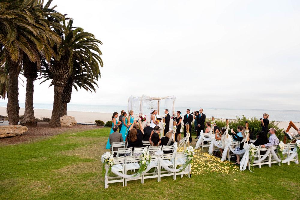 www.santabarbarawedding.com | Ledbetter Beach | Leah Valentine