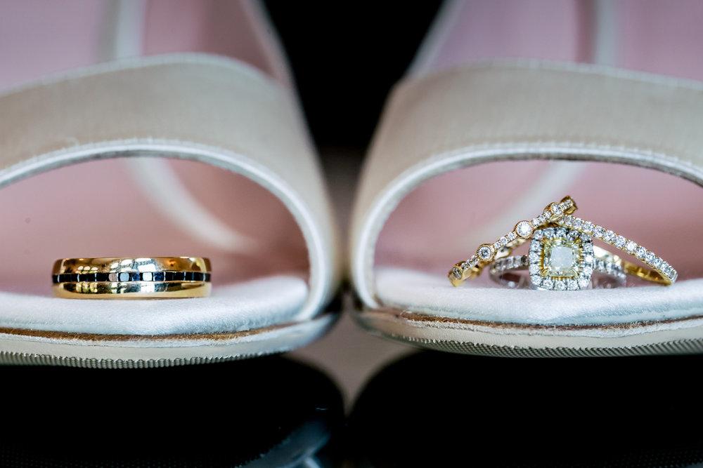 www.santabarbarawedding.com | Rewind Photography | Alegria by Design | Santa Barbara Club | Wedding Rings