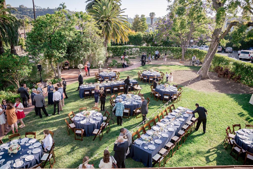 www.santabarbarawedding.com | Rewind Photography | Alegria by Design | Santa Barbara Club | Reception