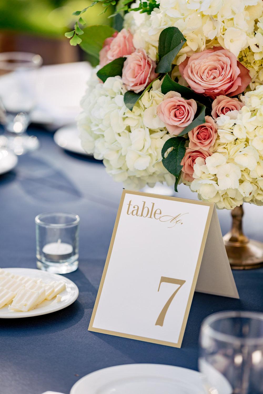 www.santabarbarawedding.com | Rewind Photography | Alegria by Design | Santa Barbara Club | Reception Table Number