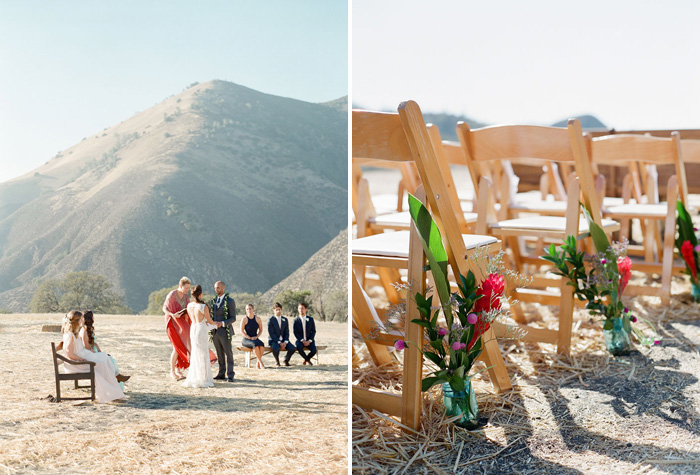 www.santabarbarawedding.com | Soigne Productions | Figueroa Mountain Farmhouse | Lacie Hansen | Ceremony