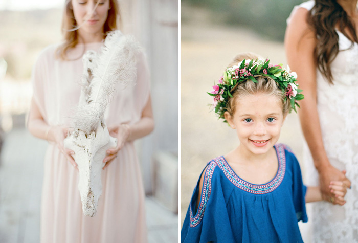 www.santabarbarawedding.com | Soigne Productions | Figueroa Mountain Farmhouse | Lacie Hansen | Flower Girl