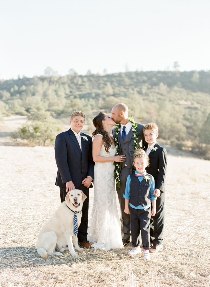 www.santabarbarawedding.com | Soigne Productions | Figueroa Mountain Farmhouse | Lacie Hansen | Family Group Photo
