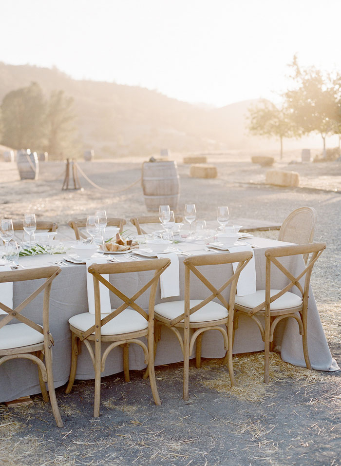 www.santabarbarawedding.com | Soigne Productions | Figueroa Mountain Farmhouse | Lacie Hansen | Reception Table