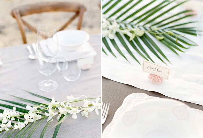 www.santabarbarawedding.com | Soigne Productions | Figueroa Mountain Farmhouse | Lacie Hansen | Reception Table Details