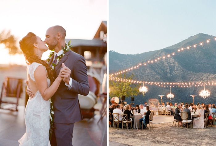 www.santabarbarawedding.com | Soigne Productions | Figueroa Mountain Farmhouse | Lacie Hansen | First Dance