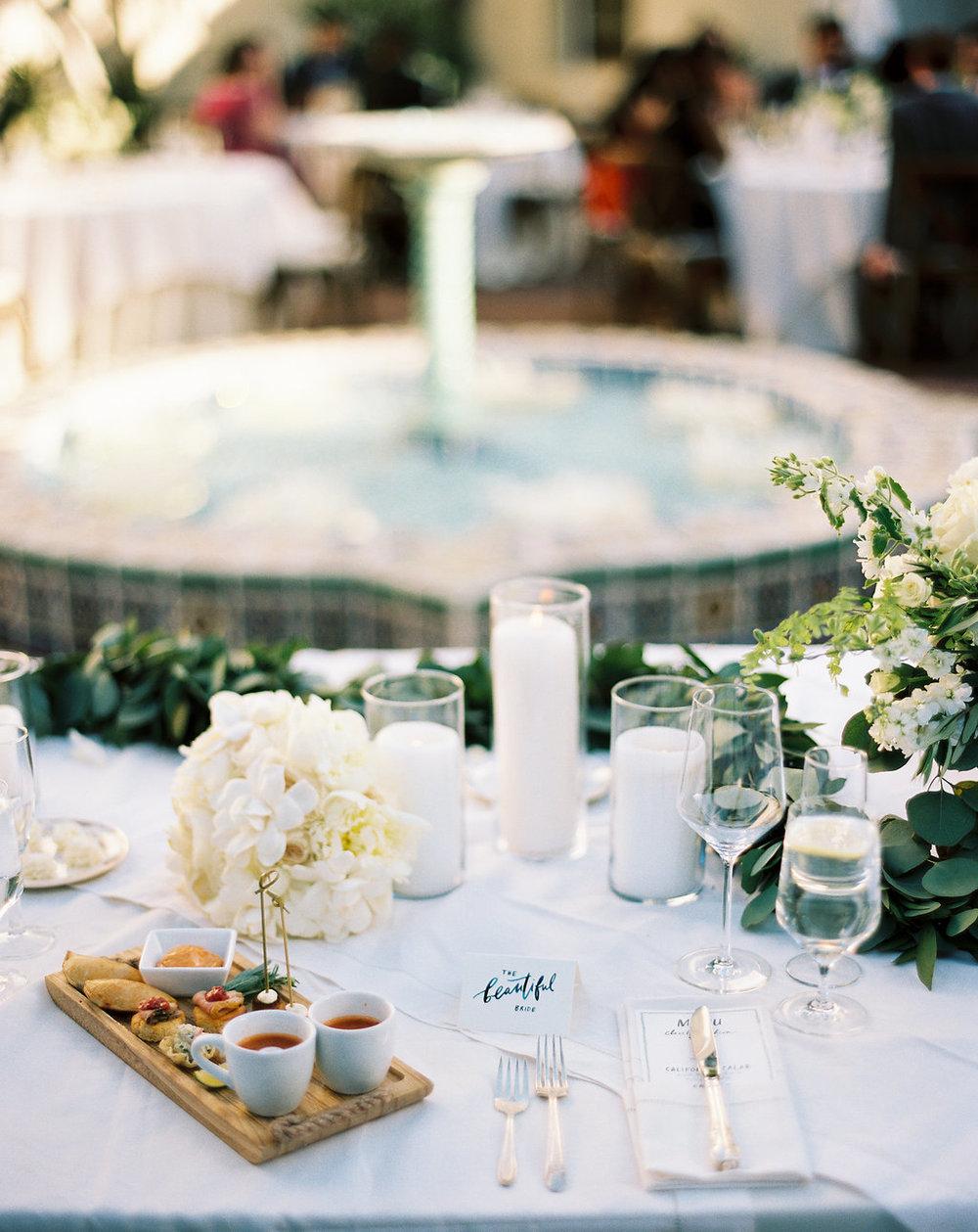 www.santabarbarawedding.com | Unitarian Society | Percy Sales | Steven Leyva | Appetizers