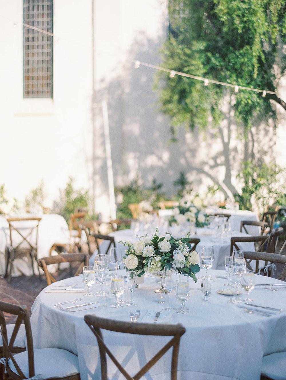 www.santabarbarawedding.com | Unitarian Society | Percy Sales | Steven Leyva | Reception Table