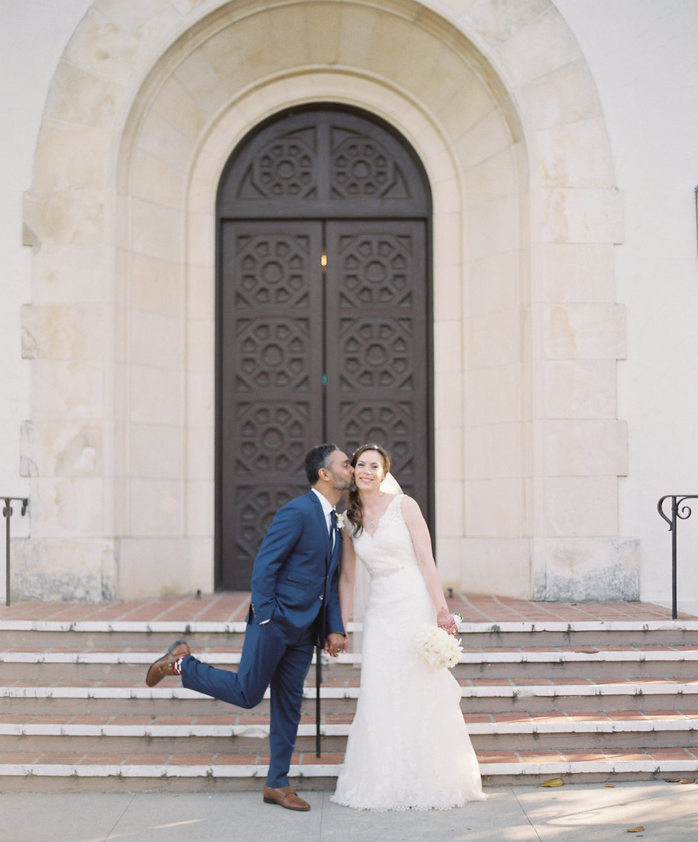 www.santabarbarawedding.com | Unitarian Society | Percy Sales | Steven Leyva | Bride and Groom
