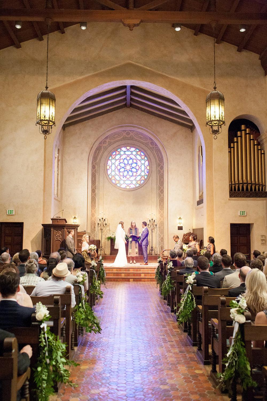 www.santabarbarawedding.com | Unitarian Society | Percy Sales | Steven Leyva | Ceremony