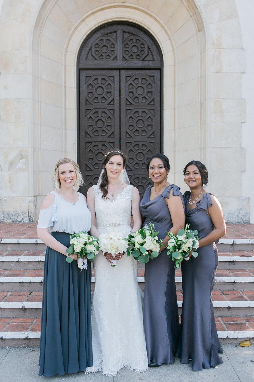 www.santabarbarawedding.com | Unitarian Society | Percy Sales | Steven Leyva | Bridesmaids