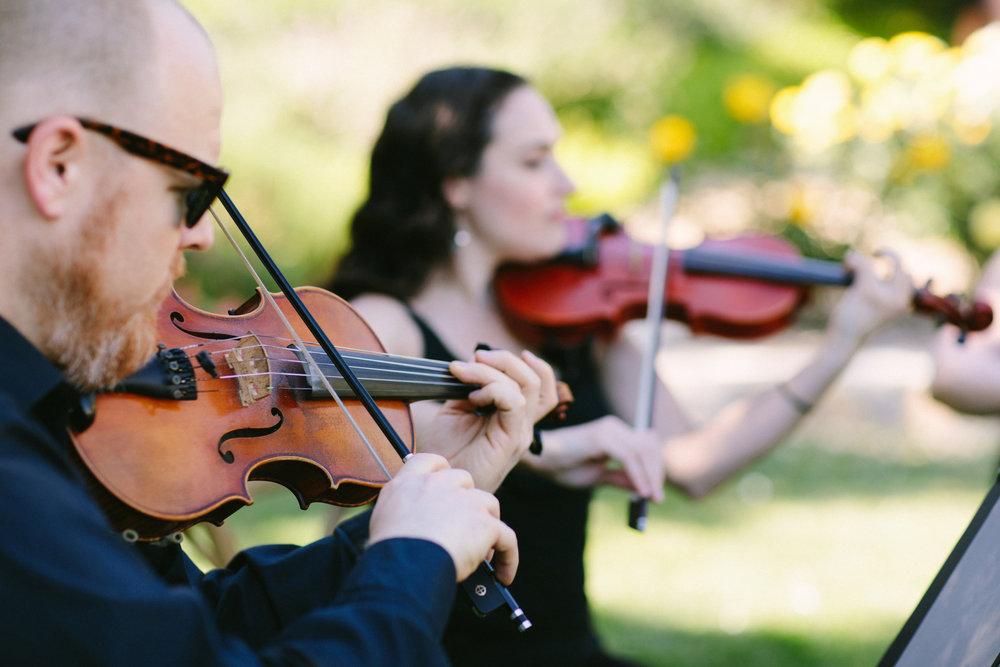 www.santabarbarawedding.com | San Ysidro Ranch | Imagine Events | Millay and Young Photo | String Quartet
