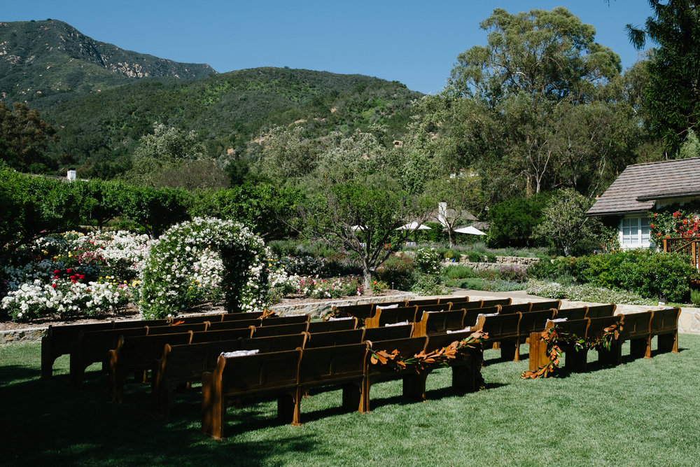 www.santabarbarawedding.com | San Ysidro Ranch | Imagine Events | Millay and Young Photo | Ceremony