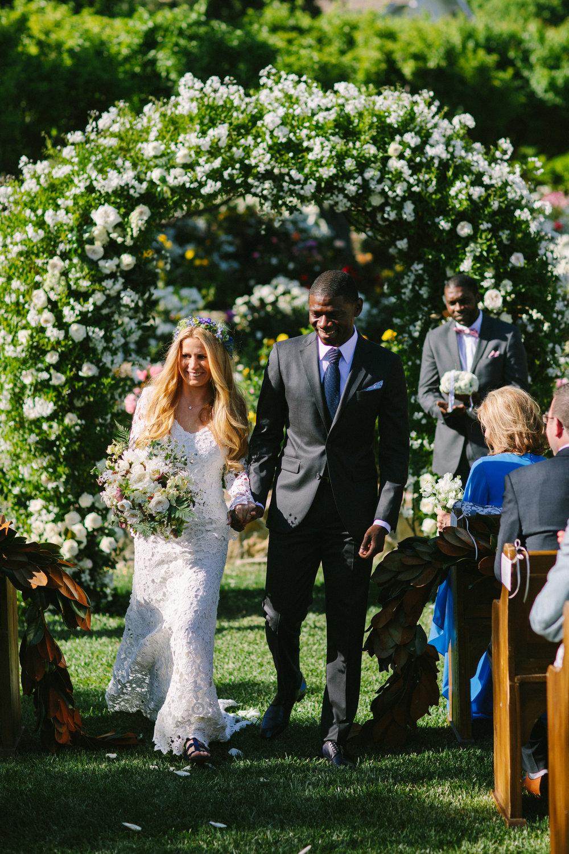 www.santabarbarawedding.com | San Ysidro Ranch | Imagine Events | Millay and Young Photo | Bride and Groom