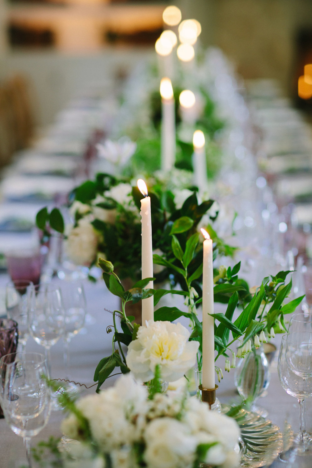 www.santabarbarawedding.com | San Ysidro Ranch | Imagine Events | Millay and Young Photo | Reception Table