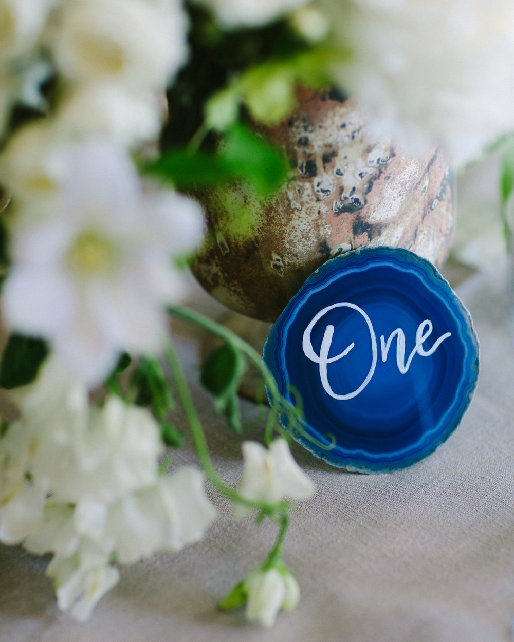 www.santabarbarawedding.com | San Ysidro Ranch | Imagine Events | Millay and Young Photo | Table Number