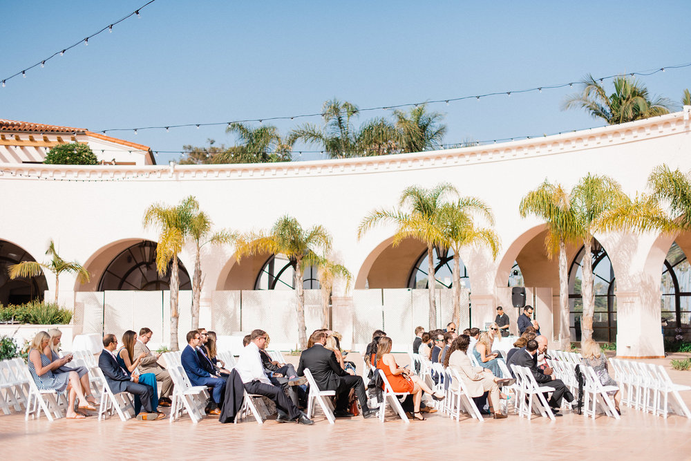 www.santabarbarawedding.com | Hilton Santa Barbara | Grace Kathryn | Events by M and M | Ceremony