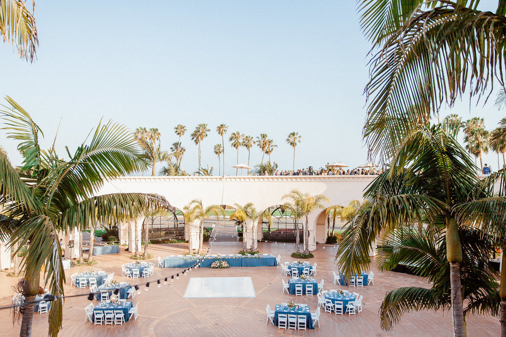 www.santabarbarawedding.com | Hilton Santa Barbara | Grace Kathryn | Events by M and M | Reception