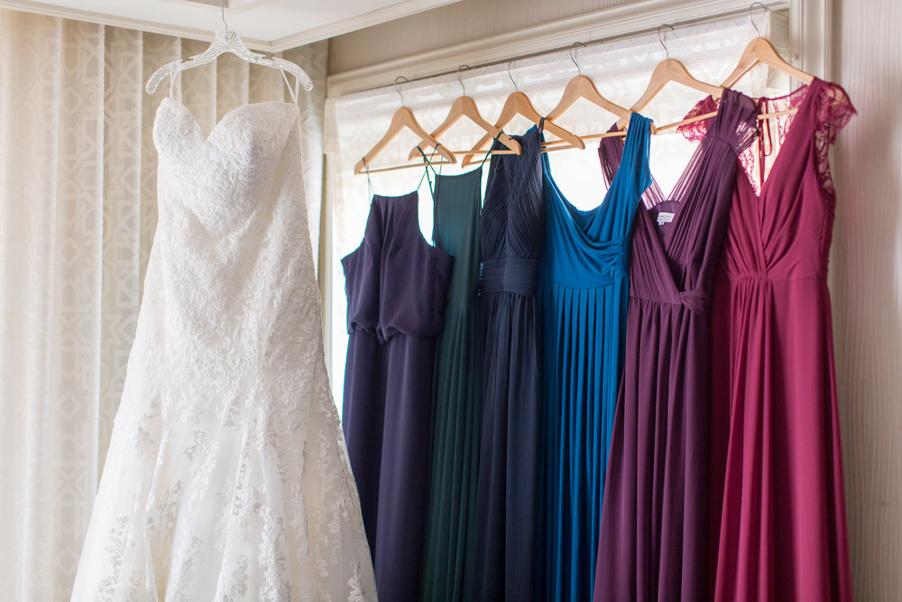 www.santabarbarawedding.com | Elings Park | Waller Weddings | Bridesmaids and Bridal Gowns