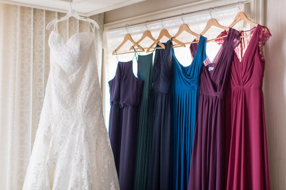 www.santabarbarawedding.com | Elings Park | Waller Weddings | Bridesmaids and Bridal Gowns