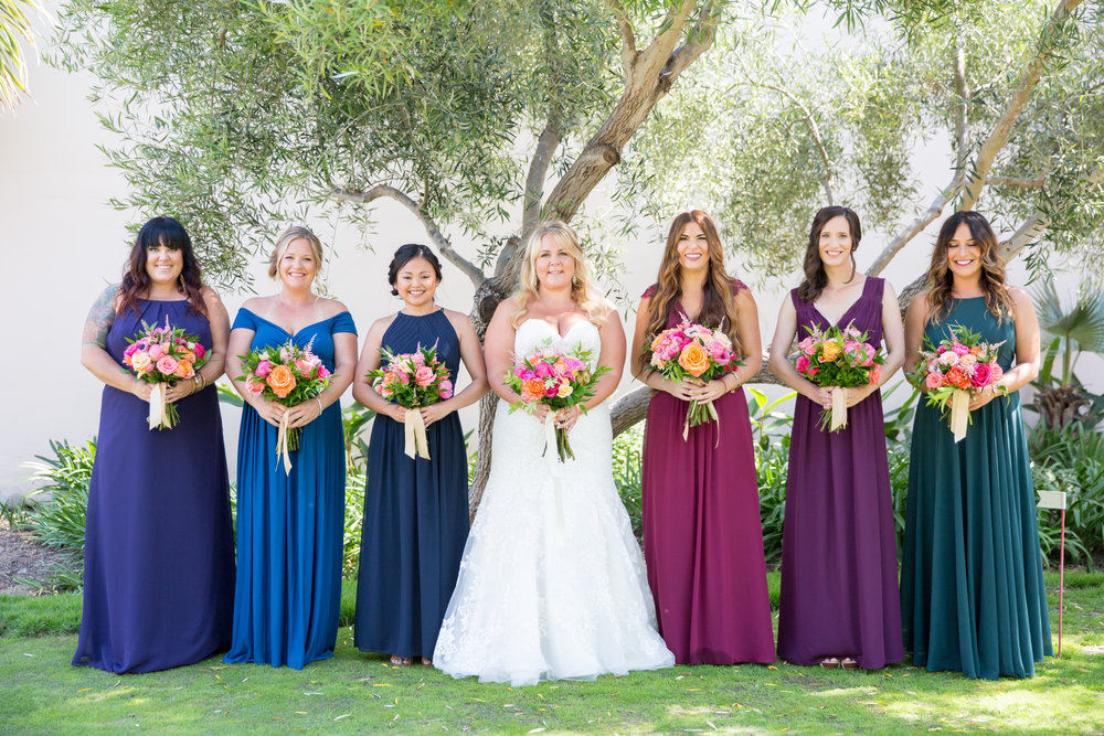 www.santabarbarawedding.com | Elings Park | Waller Weddings | Bridesmaids
