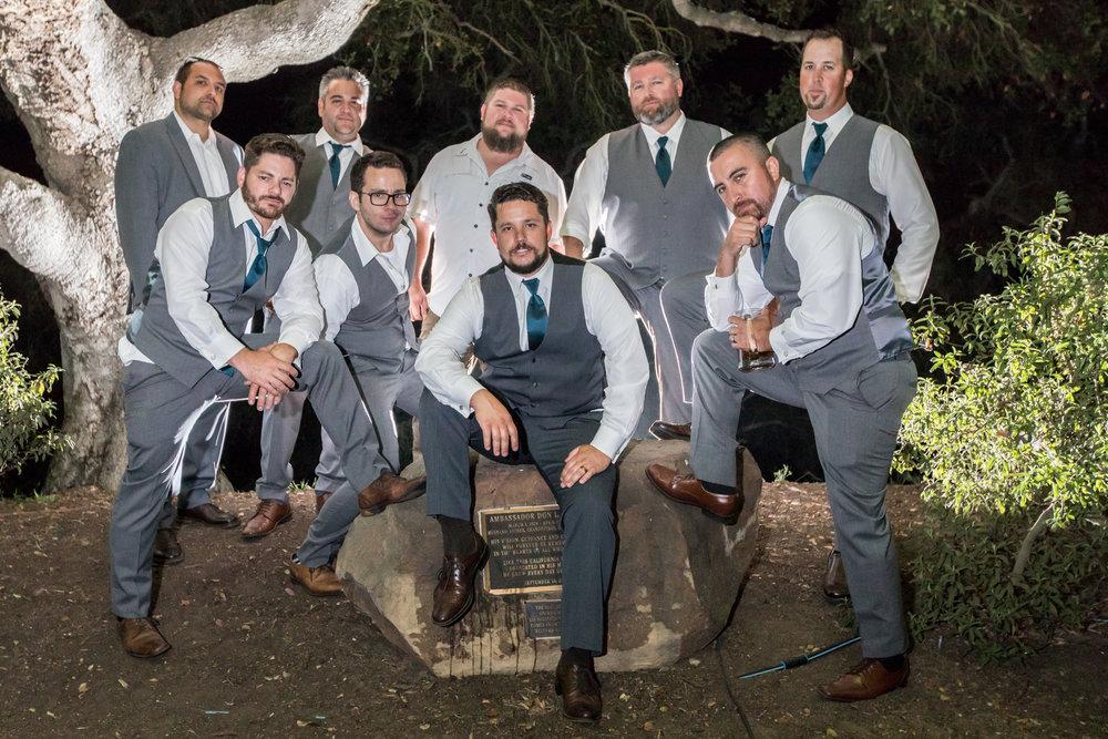 www.santabarbarawedding.com | Elings Park | Waller Weddings | Groomsmen