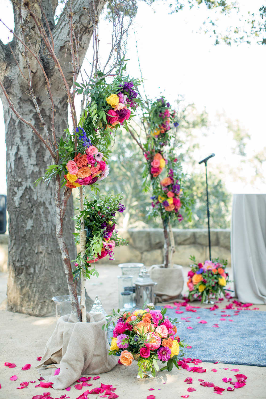 www.santabarbarawedding.com | Elings Park | Waller Weddings | Wedding Arch
