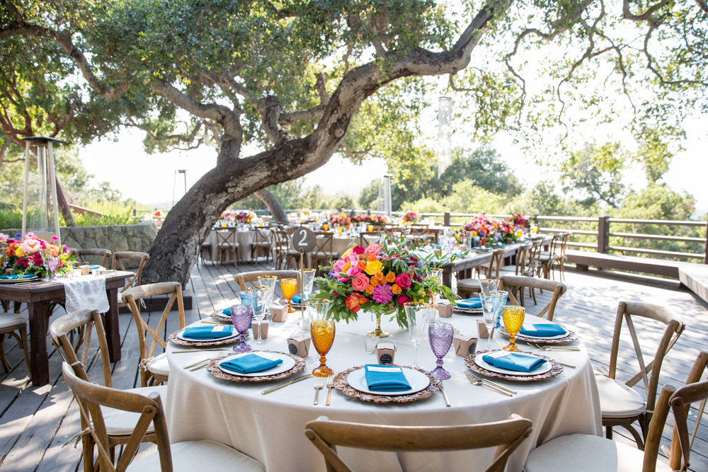 www.santabarbarawedding.com | Elings Park | Waller Weddings | Reception Table