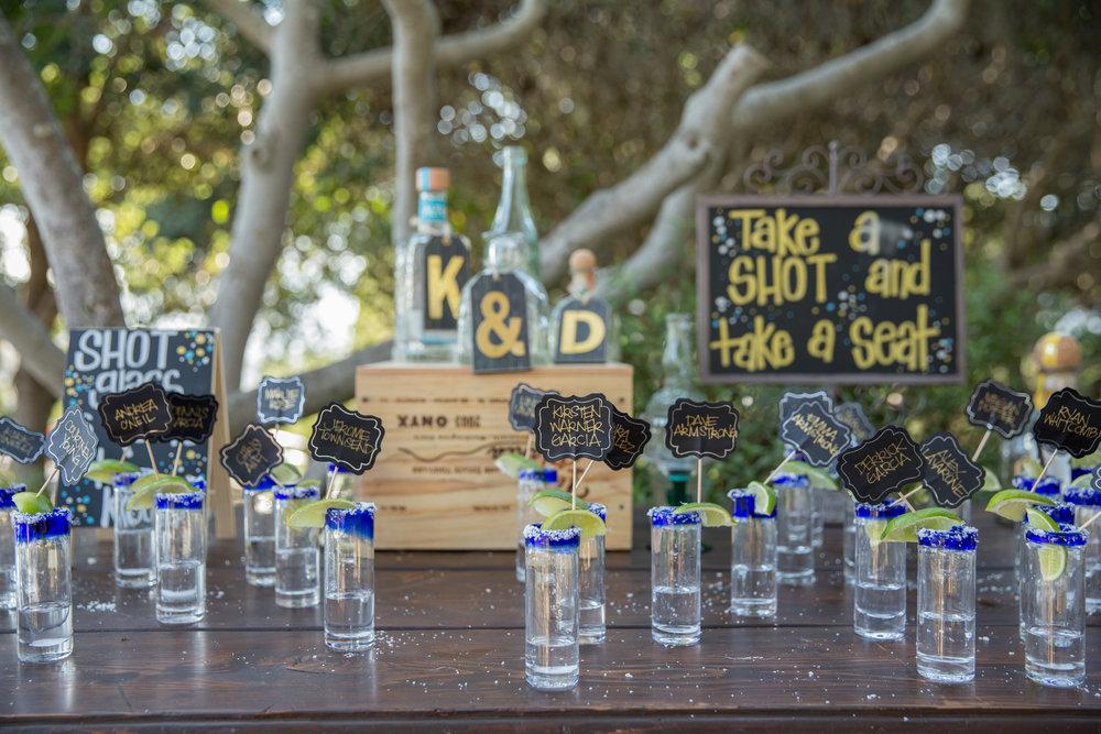 www.santabarbarawedding.com | Elings Park | Waller Weddings | Drinks | Escort Cards