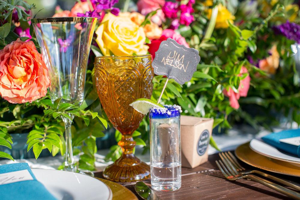 www.santabarbarawedding.com | Elings Park | Waller Weddings | Shot glass