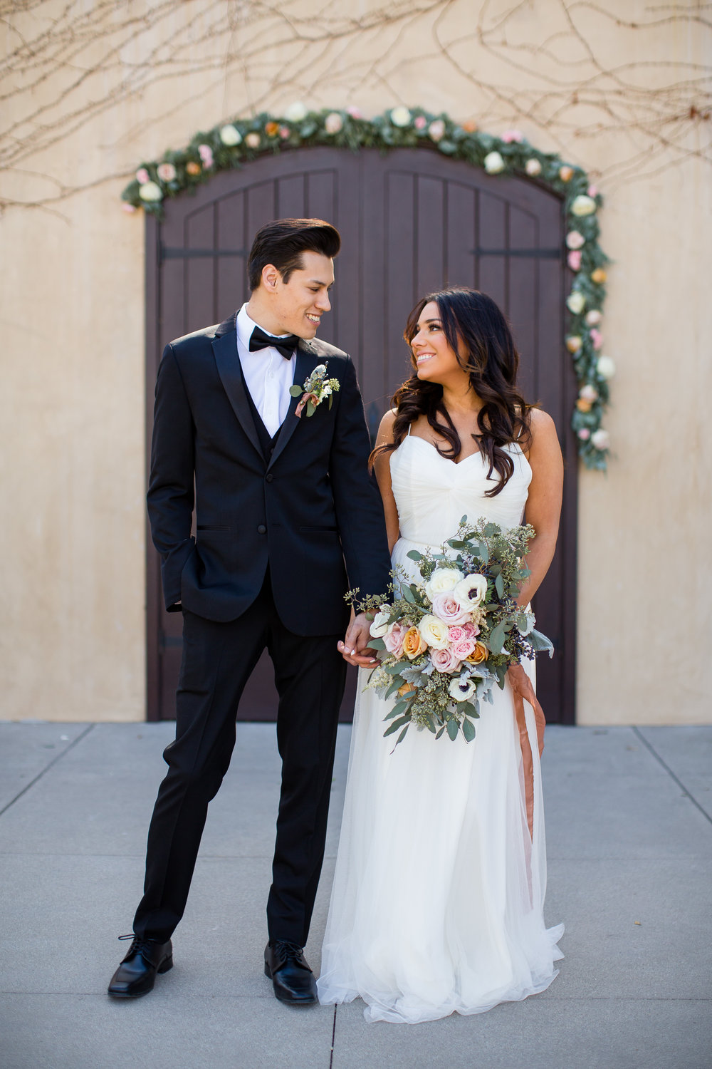 www.santabarbarawedding.com | Los Robles Greens | Events by Fran | Chelsea Elizabeth | Bride and Groom
