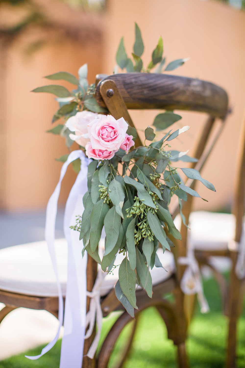 www.santabarbarawedding.com | Los Robles Greens | Events by Fran | Chelsea Elizabeth | Ceremony Seating