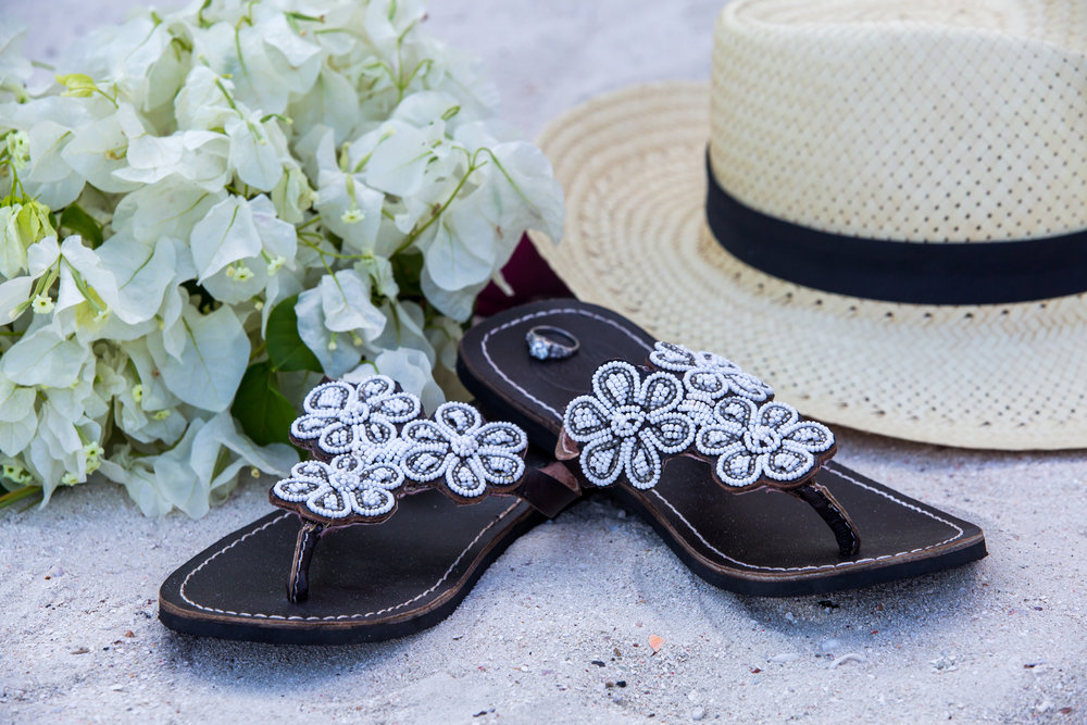Wazi Shoes | Wedding Sandal | Beach Bride | Santa Barbara