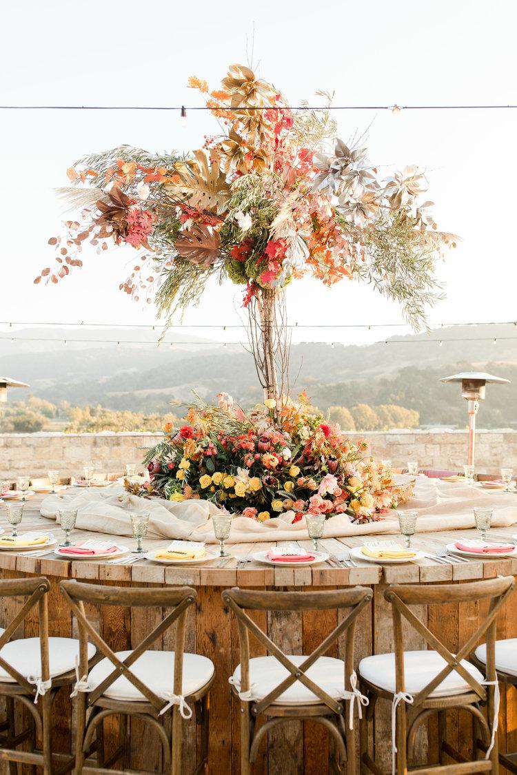 www.SantaBarbaraWedding.com | Luxe Linen | Thanksgiving Table