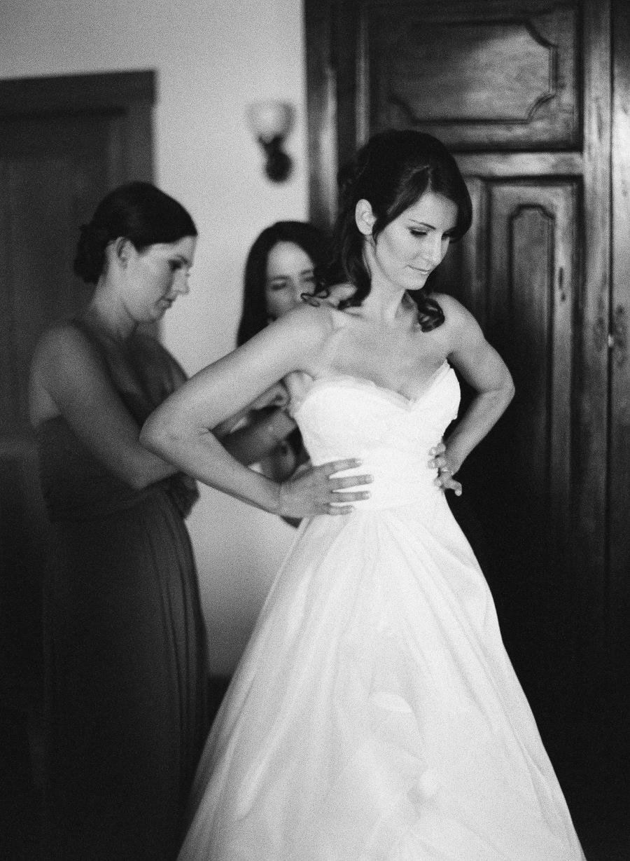 www.santabarbarawedding.com | Soigne Productions | Michael and Anna Costa | Zaca Creek Ranch | Bride getting ready