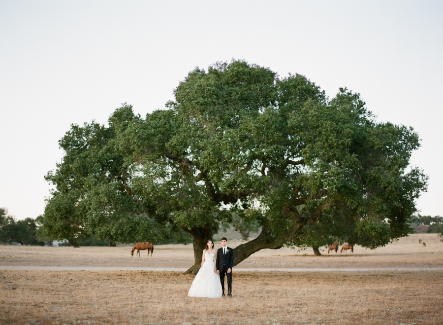 www.santabarbarawedding.com | Soigne Productions | Michael and Anna Costa | Zaca Creek Ranch | Bride and Groom